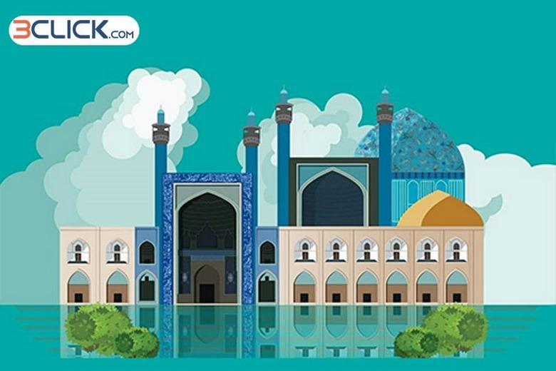 شرکت دلتابان,بهترین زمان سفر به اصفهان,خرید بلیط هواپیما اصفهان,