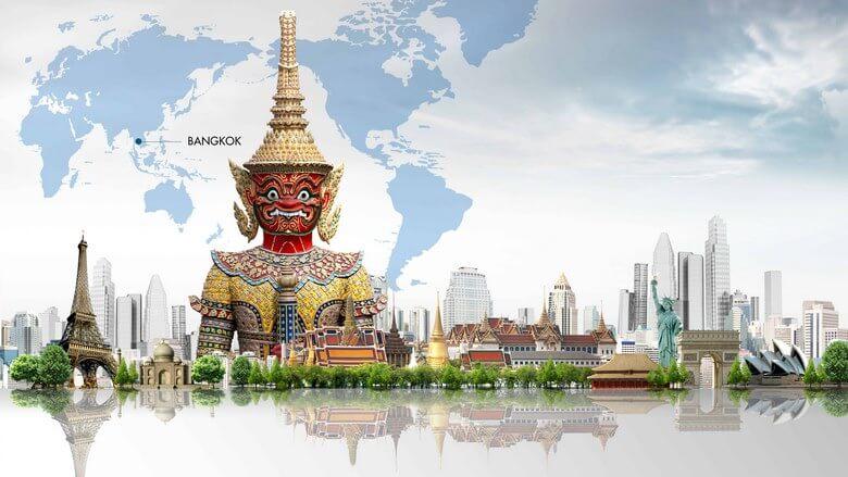 مکان های دیدنی در شهر بانکوک,جاذبه های بانکوک تایلند,جاذبه های توریستی تایلند بانکوک