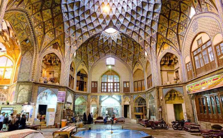 بازارهای قدیمی ایران,تاریخ بازار ایران,بازار تاریخی جهرم,