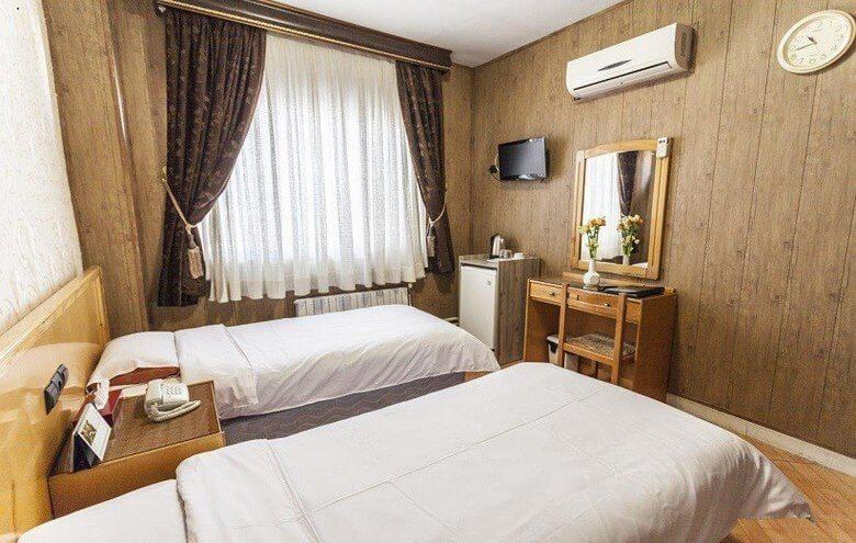 اتاق های هتل قدس مشهد,حرم مطهر امام رضا مشهد,هتل قدس مشهد,