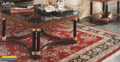 تصویر از خرید فرش ماشینی کاشان