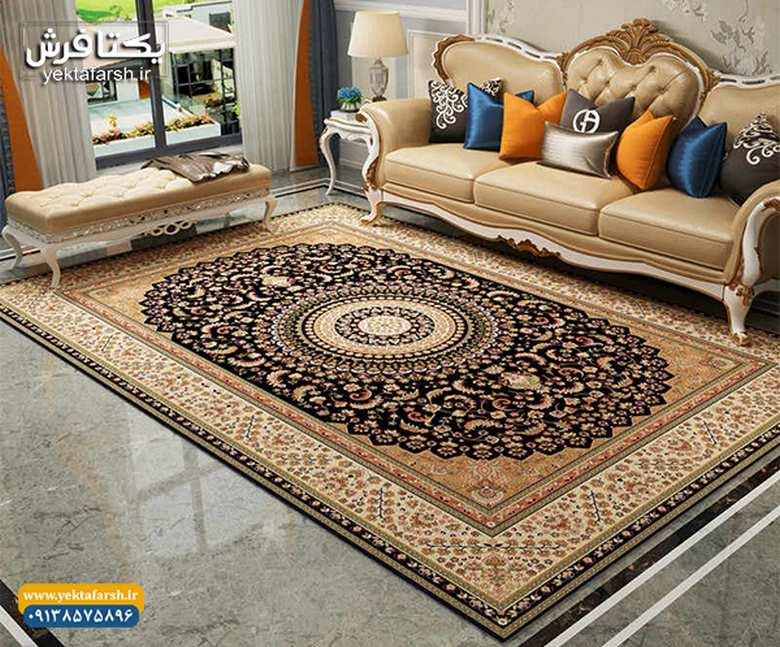 انواع فرش کاشان,خرید فرش ماشینی کاشان,فرش ماشینی کاشان
