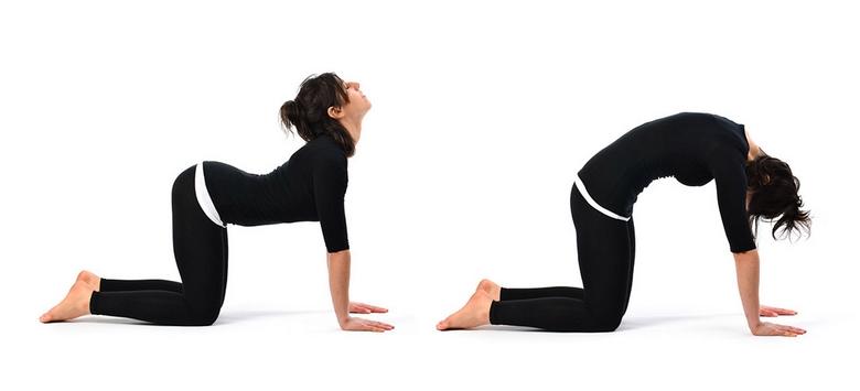 تمرین های یوگا برای کمر درد,تمرین یوگا برای کمر درد,حرکات یوگا برای درد کمر,