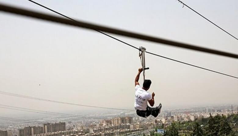 بهترین تفریحات در تهران,تفریح مهیج در تهران,تفریح هیجان انگیز در تهران,