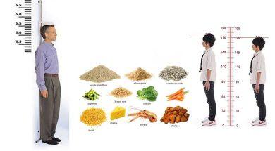 تصویر از 10 مواد غذایی که باعث افزایش قد میشوند