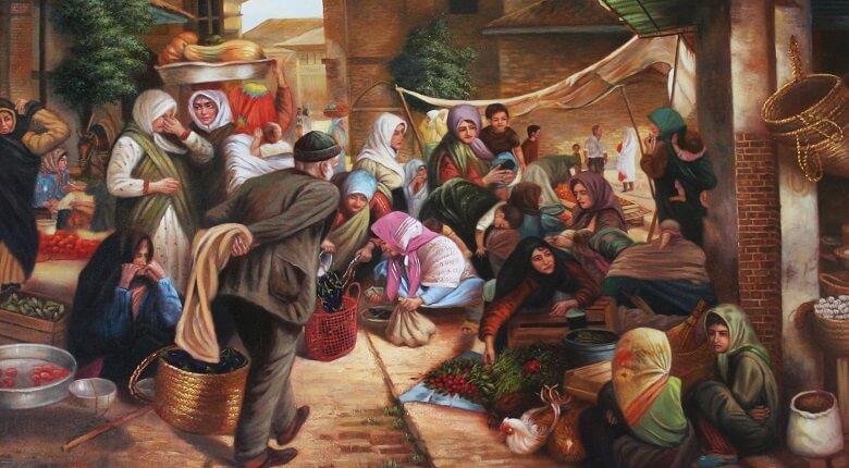 بازار تاریخی جهرم,بازار تاریخی شیراز,بازار تاریخی قزوین