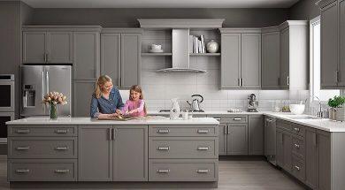 تصویر از 10 ایده برای انتخاب رنگ کابینت آشپزخانه و نکات مهمی که باید بدانید!