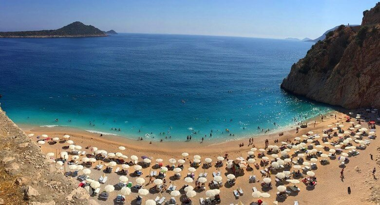 سواحل زیبای آنتالیا در ترکیه,سواحل زیبای ترکیه,بهترین ساحل ترکیه