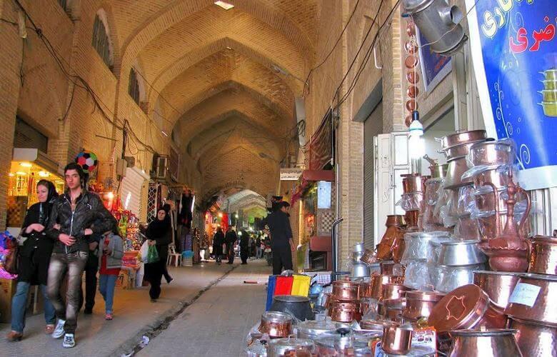بازار قدیمی ایران,بازار های تاریخی ایران,بازارهای قدیمی ایران,