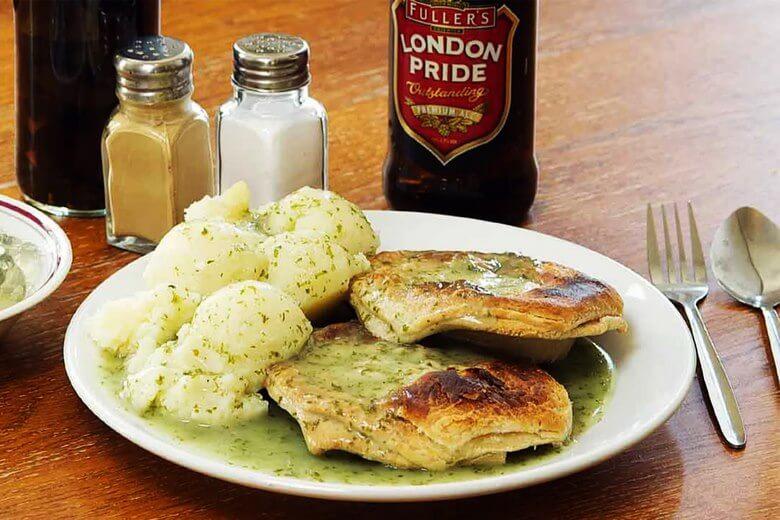 بهترین غذای لندن,عکس غذای لندن,غذای خیابانی لندن,