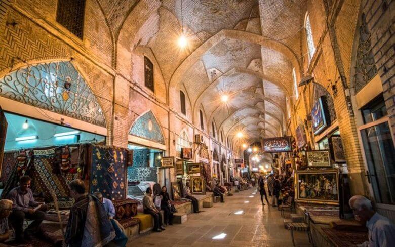 بازار تاریخی کرمان,بازار تاریخی کرمانشاه,بازار قدیمی ایران,