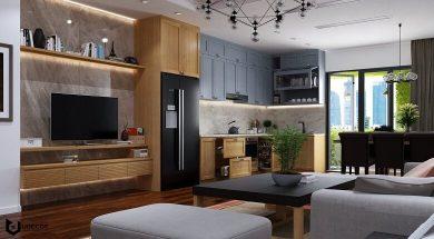 تصویر از طراحی دکوراسیون مغازه و کابینت آشپزخانه