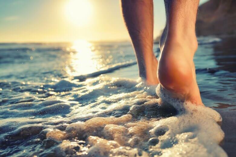 تکنیک برای سلامت پا,راه های سلامت پا,نکات بهداشت پا,