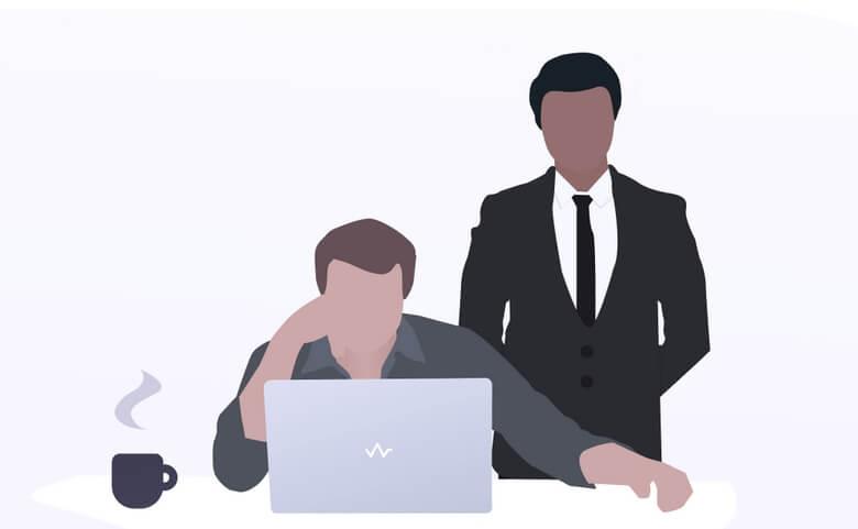 عادت غیر حرفه ای در محیط کار,عادت های بد در محیط کار,همکار بد در محیط کار,