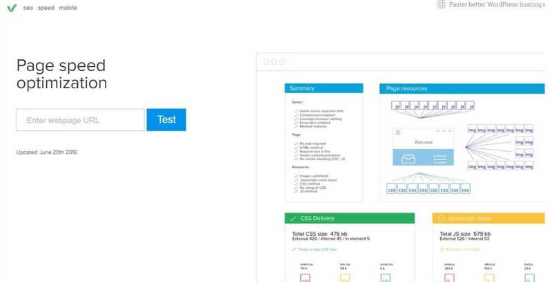 ابزار تست سرعت سایت,اندازه گیری سرعت لود شدن سایت,بالا بردن سرعت لود شدن سایت