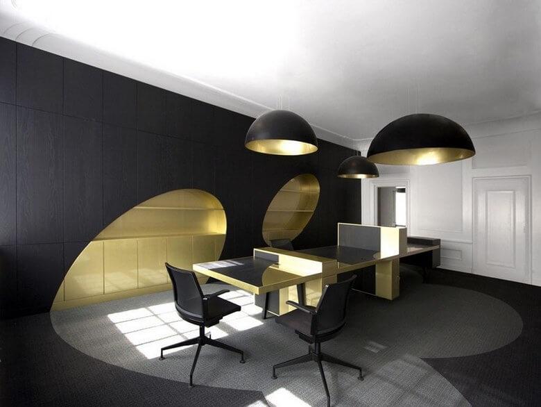 سبک مینیمال,طراحی میزهای اداری مینیمال,میز اداری مینیمال,