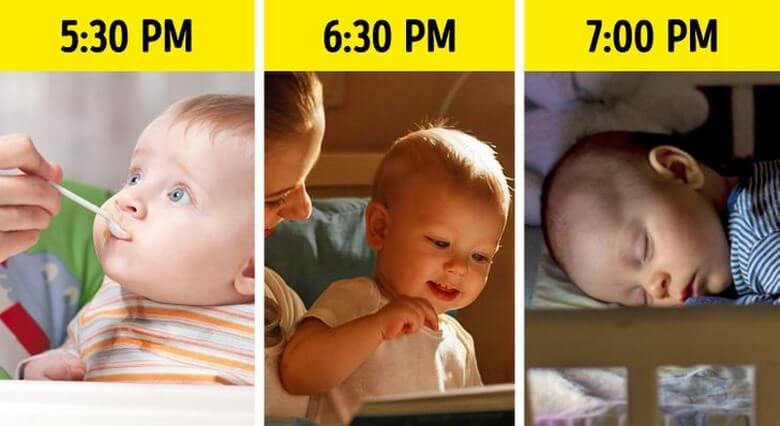بدخواب شدن بچه,بدخواب شدن نوزاد,بدخواب شدن نوزادان,