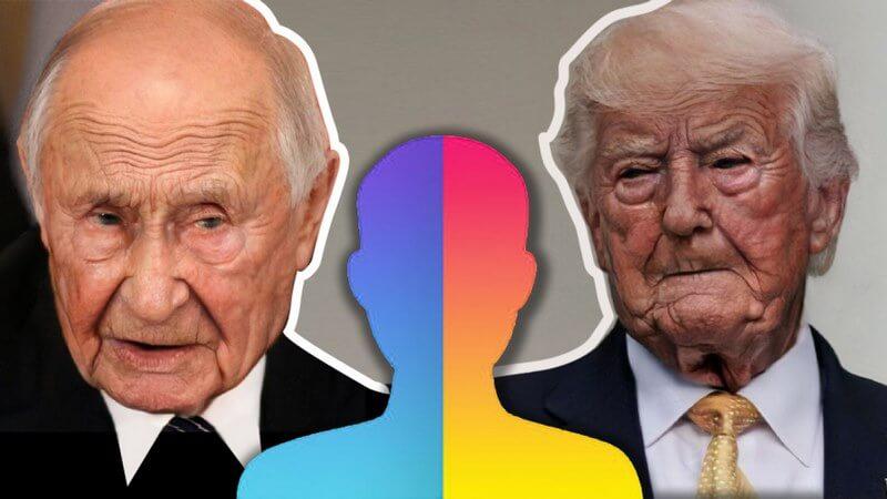 چالش پیری,چهره شما در آینده,چالش پیری