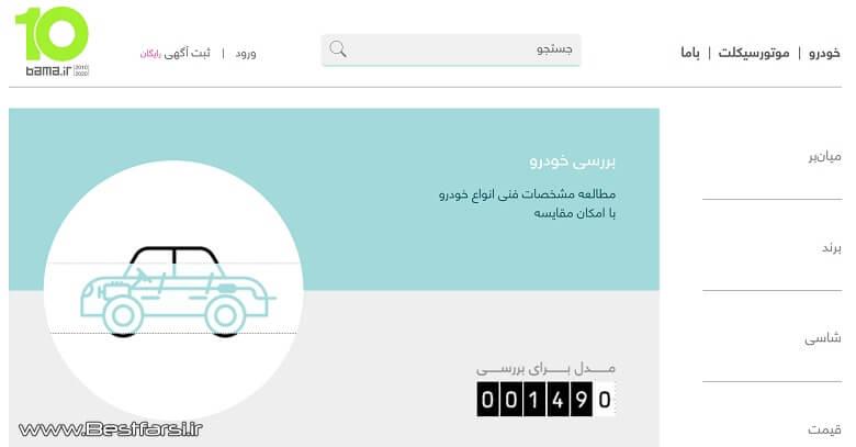 بهترین سایت فروش خودرو,بهترین سایت قیمت خودرو,بهترین سایت مقایسه خودرو
