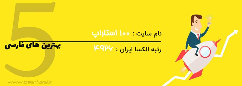 سایت های استارتاپی,شتاب دهنده های برتر ایران,لیست شتابدهنده های ایران,