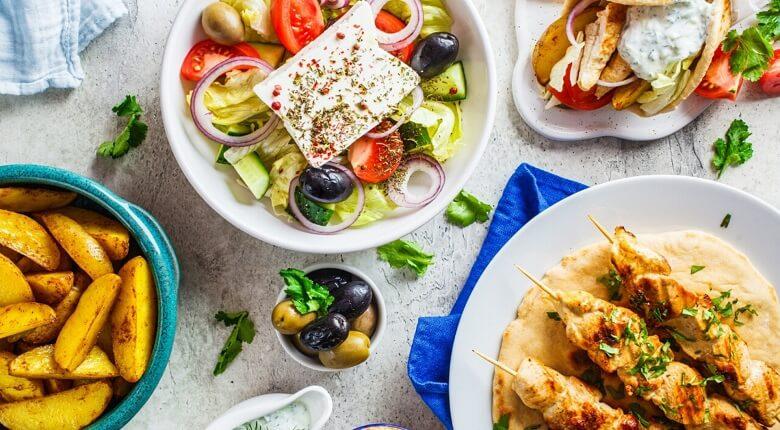 انواع غذاهای یونانی,بهترین غذاهای یونان,بهترین غذاهای یونانی