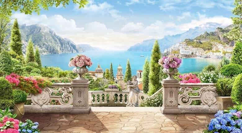 باغ سفارت ایتالیا,باغ فواره های ایتالیا,باغ های ایتالیایی