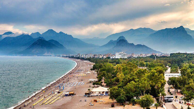 آب و هوای آنتالیا,بهترین زمان برای سفر به انتالیا,بهترین زمان مسافرت به آنتالیا