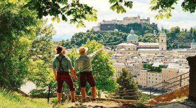 تصویر از بهترین زمان سفر به اتریش