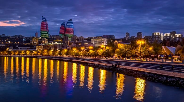 باکو کجاست,بهترين زمان سفر به باكو,بهترین زمان برای سفر به باکو
