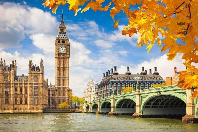 هزینه سفر به لندن,بهترین زمان سفر به لندن,بهترین زمان برای سفر به لندن