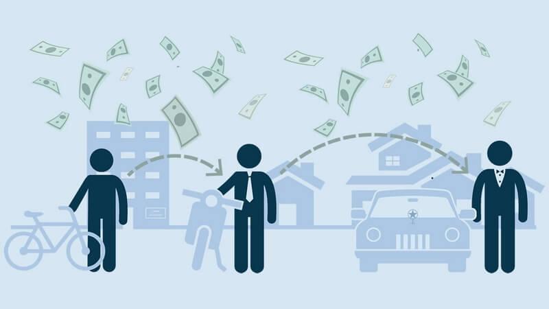 راه های پولدار شدن,رسیدن به ثروت,روش های ثروتمند شدن