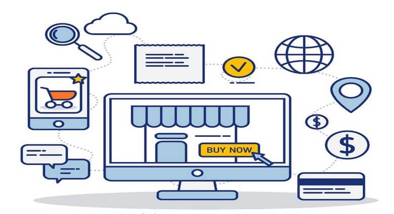 افتتاح شعبه آنلاین,ساخت فروشگاه اینترنتی,طراحی سایت آسان,