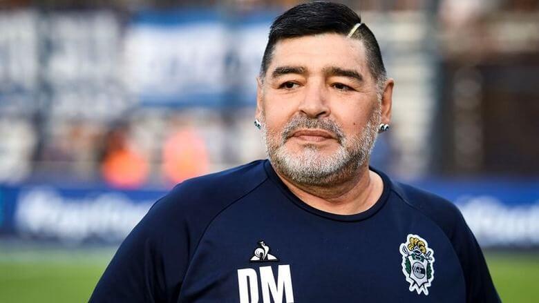 بیوگرافی دیه گو مارادونا,بیوگرافی مارادونا,دیگو آرماندو مارادونا و همسرش,