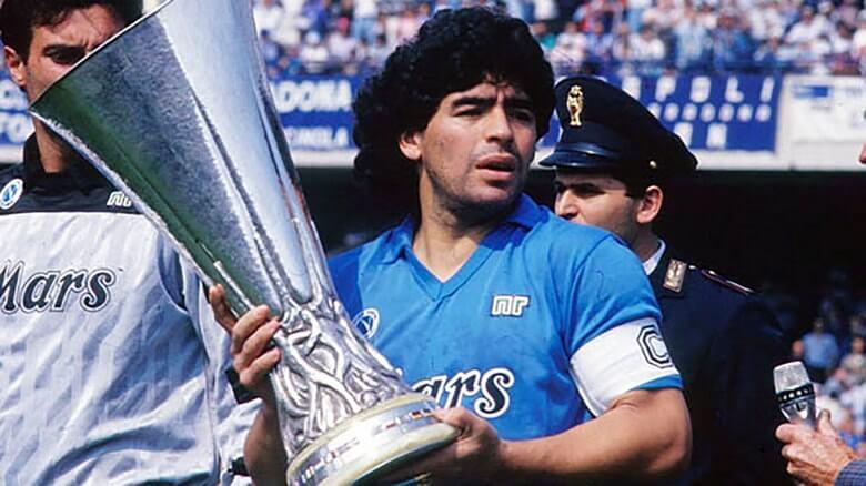 زندگینامه دیگو آرماندو مارادونا,زندگینامه فوتبالی مارادونا,زندگینامه مارادونا,