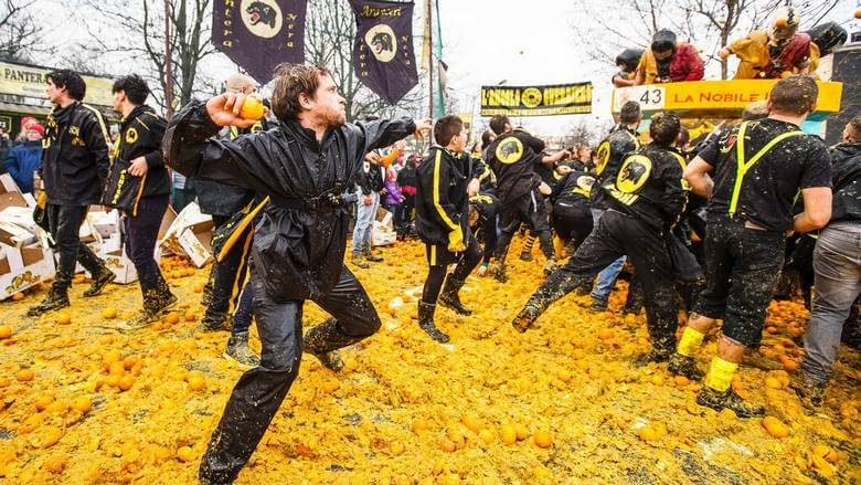 جشن های عجیب اروپا,جشن های عجیب در اروپا,جشن های عجیب در دنیا