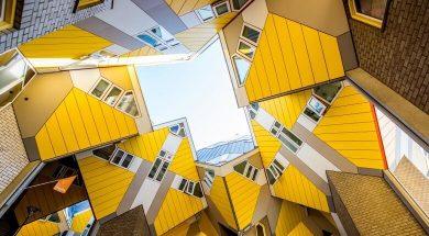 تصویر از 10 تا از عجیب ترین ساختمان های دنیا – خانه رقاصان؟!