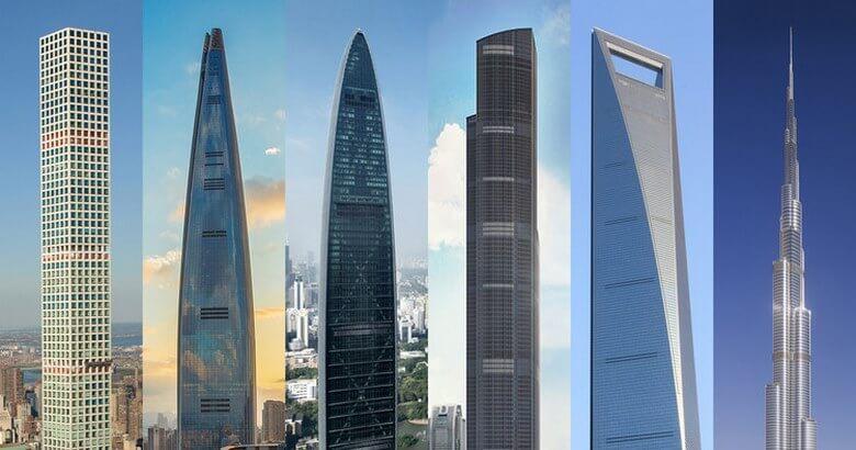 بلندترین ساختمان جهان در کدام کشور است,بلندترین ساختمان در جهان,بلندترین ساختمان های دنیا