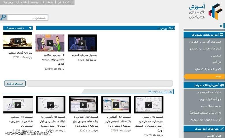 بهترین سایت های بورس,بهترین سایت های بورسی,سایت آموزش بورس,