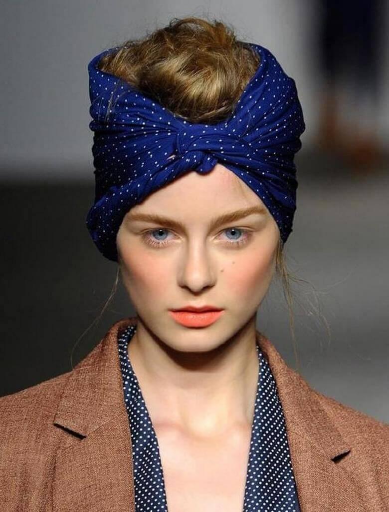طرز بستن روسری,مدل بستن روسری,آموزش بستن روسری,