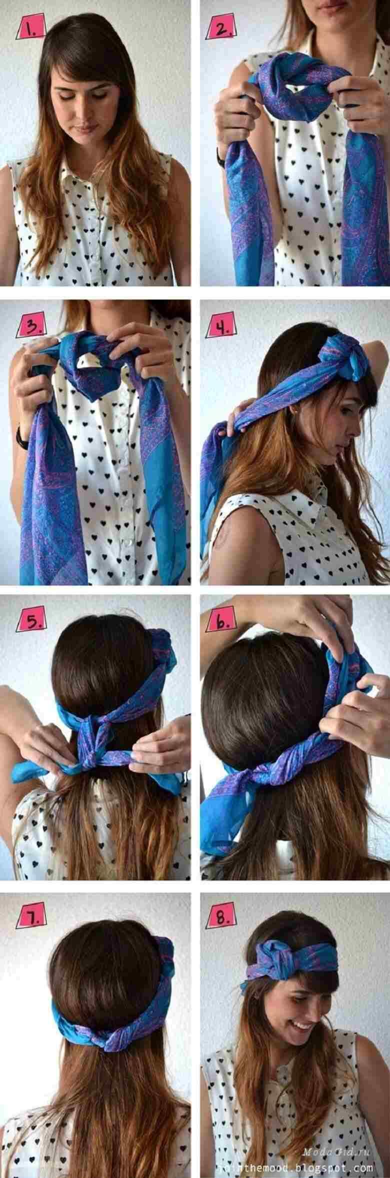 آموزش بستن روسری,بستن روسری,بستن روسری بزرگ,