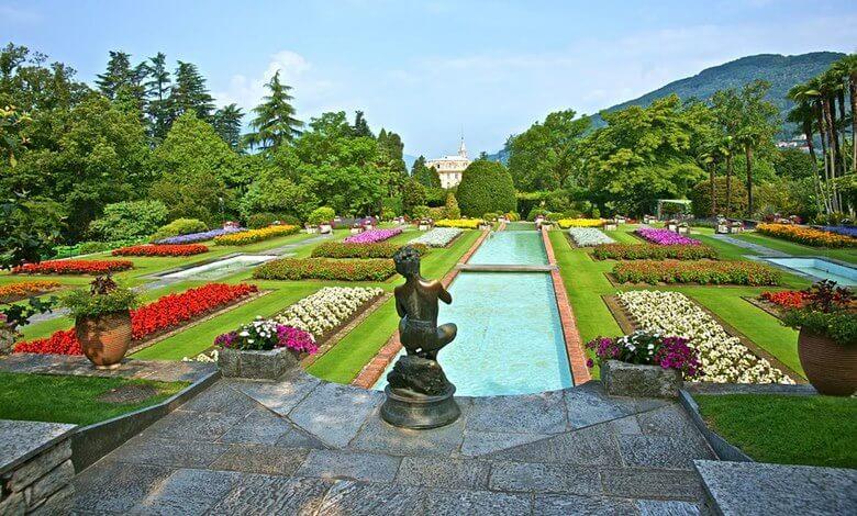 باغ ویلا دسته ایتالیا,زیباترین باغ های جهان,معماری باغ های ایتالیایی,