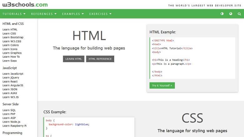 بهترین سایت های آموزش آنلاین,بهترین سایت های آموزشی جهان,سایت آموزش آنلاین برنامه نویسی